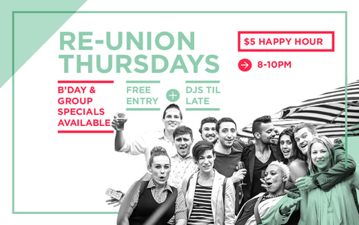 Reunion Thursdays