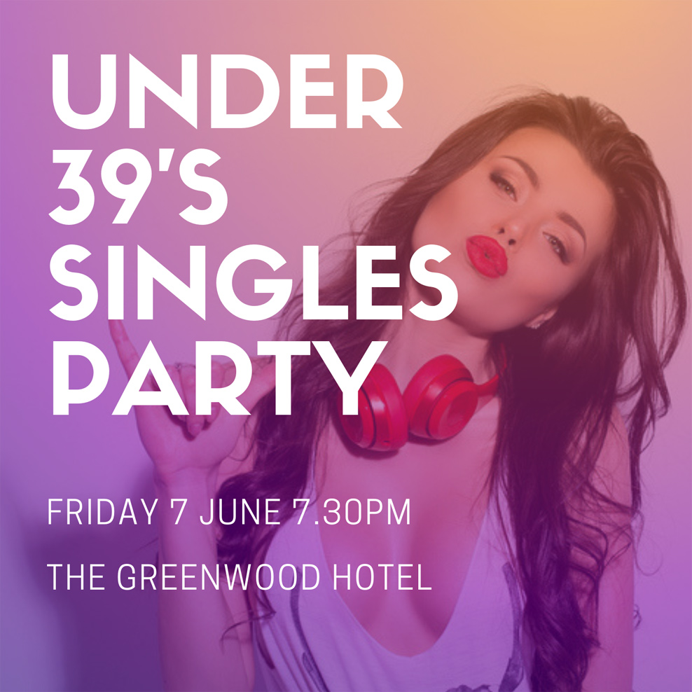 Under 39's Singles Party