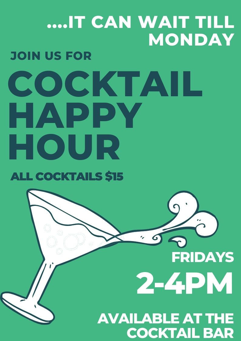 Greenwood Cocktail Happy Hour