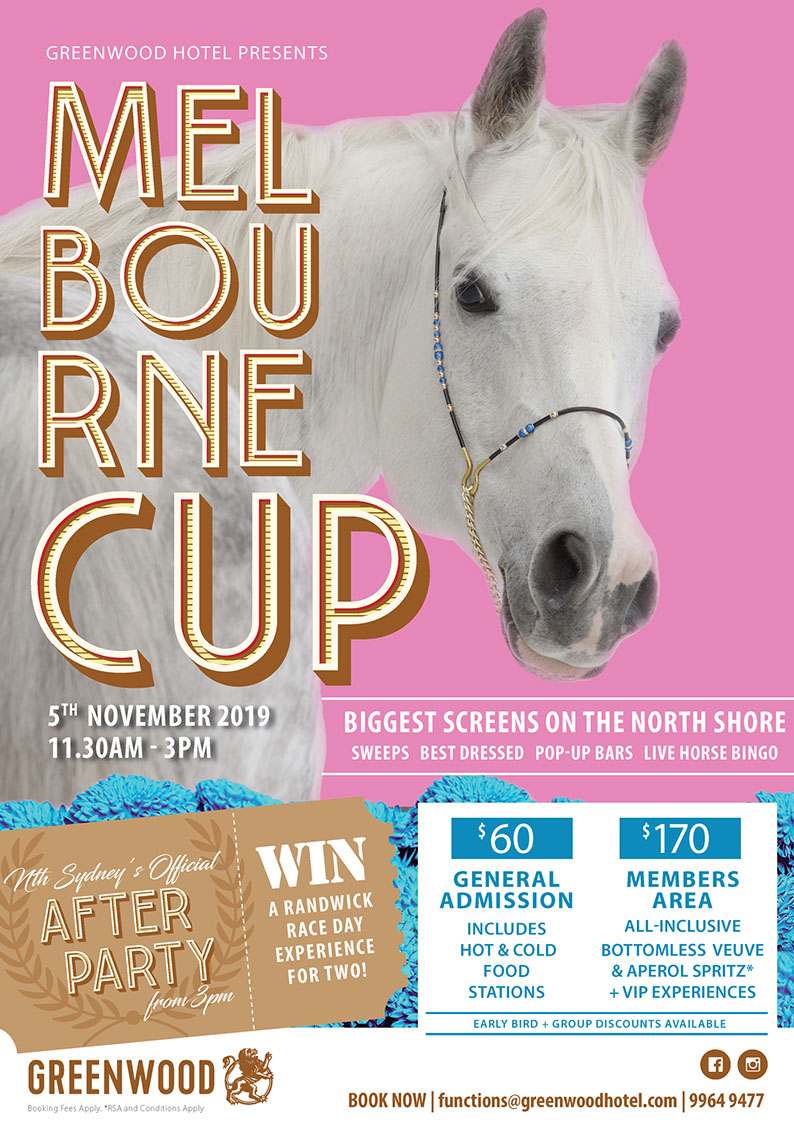 Melbourne Cup at the Greenwood Hotel