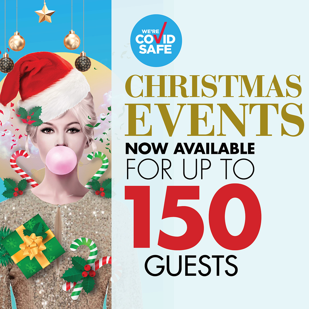 Christmas events for up to 150 guests