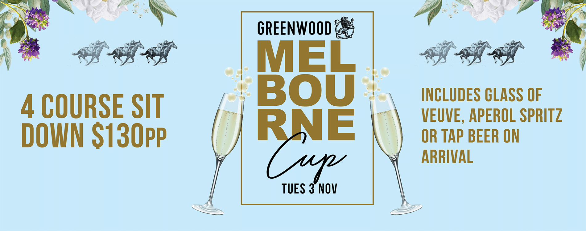 Melbourne Cup at the Greenwood