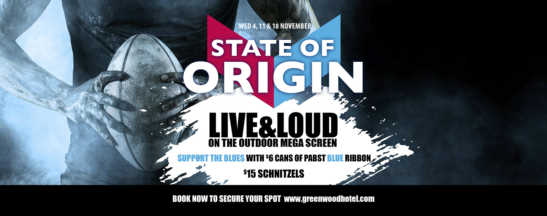 State of Origin Live and Loud at the Greenwood