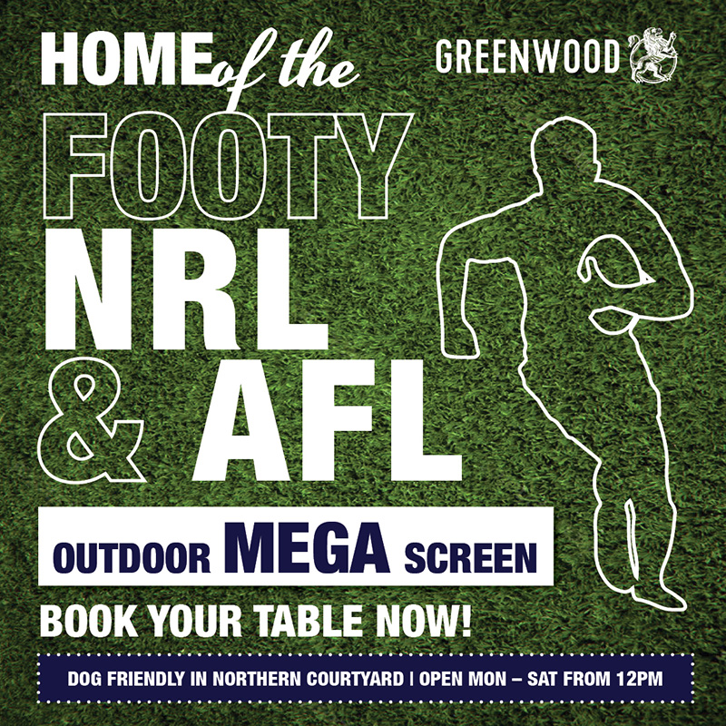 Greenwood Home of the Footy